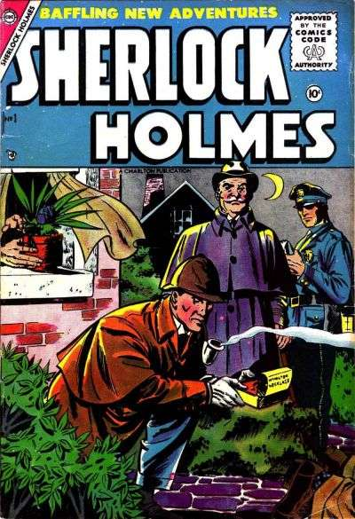 Sherlock Holmes #1 comic books - cover scans photos Sherlock Holmes #1 comic books - covers, picture gallery