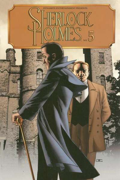 Sherlock Holmes #5 comic books - cover scans photos Sherlock Holmes #5 comic books - covers, picture gallery