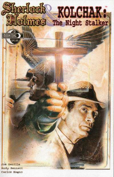 Sherlock Holmes: Kolchak: The Night Stalker #2 Comic Books - Covers, Scans, Photos  in Sherlock Holmes: Kolchak: The Night Stalker Comic Books - Covers, Scans, Gallery