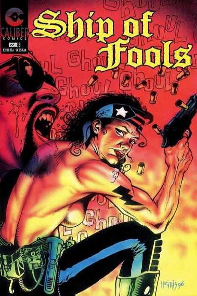 Ship of Fools #3 comic books - cover scans photos Ship of Fools #3 comic books - covers, picture gallery