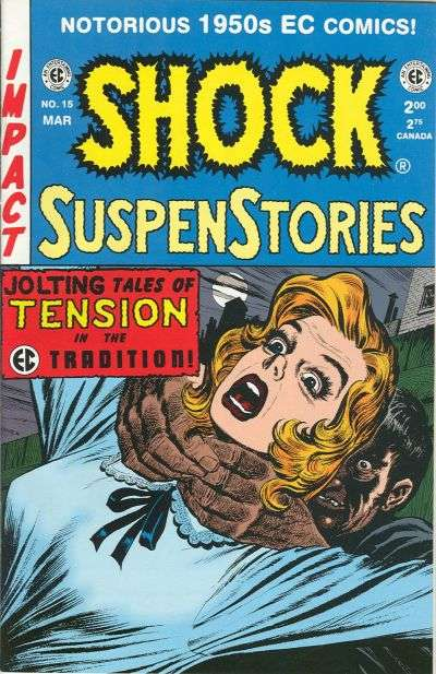 Shock SuspenStories #15 Comic Books - Covers, Scans, Photos  in Shock SuspenStories Comic Books - Covers, Scans, Gallery
