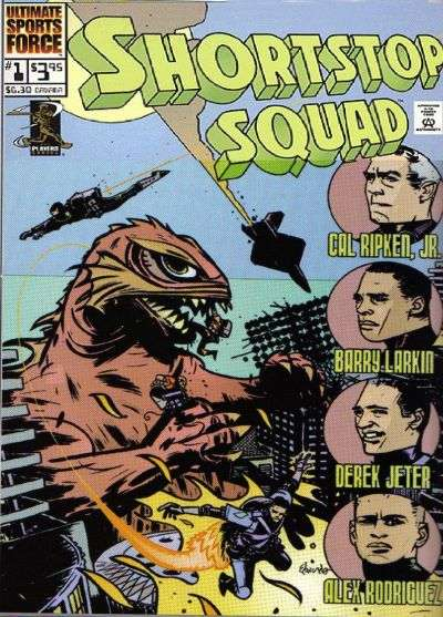Shortstop Squad #1 comic books - cover scans photos Shortstop Squad #1 comic books - covers, picture gallery