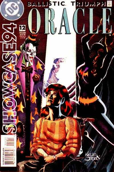 Showcase '94 #12 comic books - cover scans photos Showcase '94 #12 comic books - covers, picture gallery