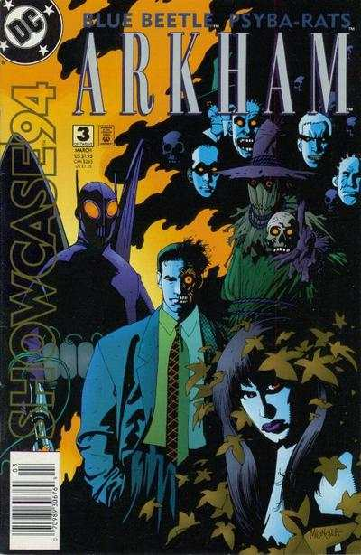 Showcase '94 #3 comic books - cover scans photos Showcase '94 #3 comic books - covers, picture gallery