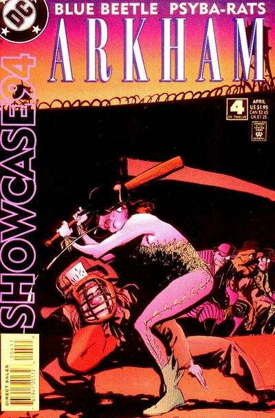 Showcase '94 #4 comic books - cover scans photos Showcase '94 #4 comic books - covers, picture gallery