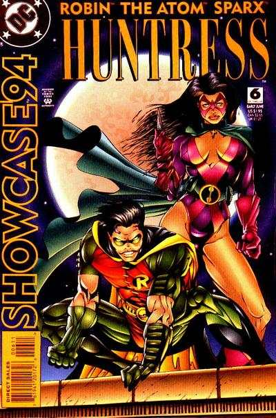 Showcase '94 #6 comic books - cover scans photos Showcase '94 #6 comic books - covers, picture gallery