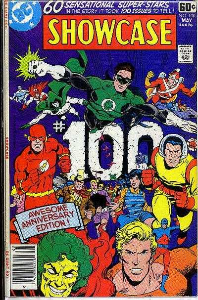 Showcase #100 comic books - cover scans photos Showcase #100 comic books - covers, picture gallery
