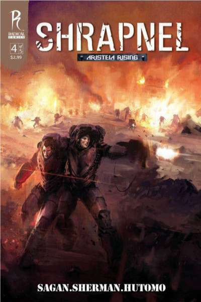 Shrapnel: Aristeia Rising #4 comic books for sale