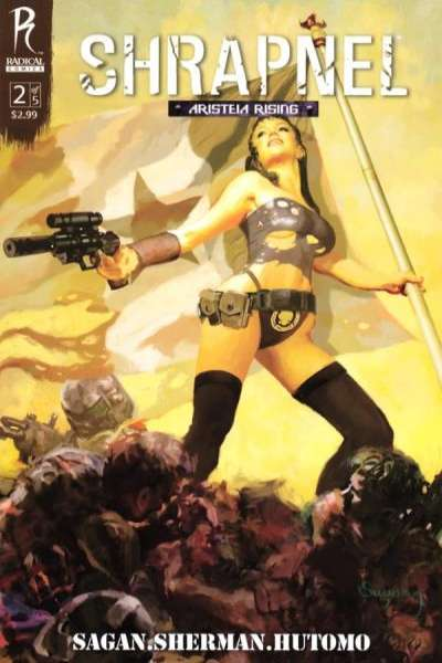 Shrapnel #2 comic books - cover scans photos Shrapnel #2 comic books - covers, picture gallery