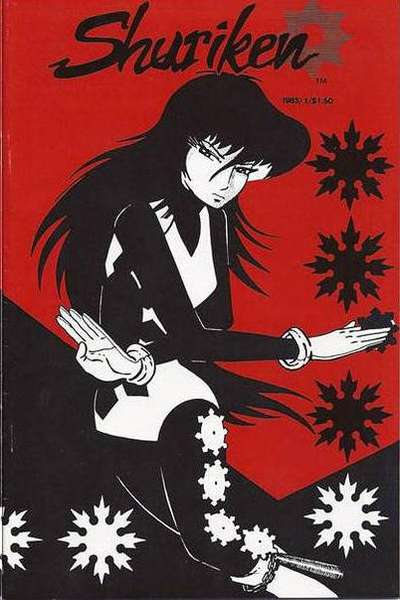 Shuriken #1 Comic Books - Covers, Scans, Photos  in Shuriken Comic Books - Covers, Scans, Gallery