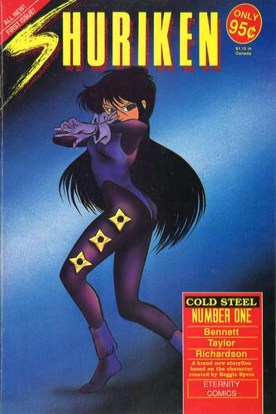 Shuriken: Cold Steel #1 comic books - cover scans photos Shuriken: Cold Steel #1 comic books - covers, picture gallery