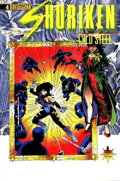 Shuriken: Cold Steel #4 comic books - cover scans photos Shuriken: Cold Steel #4 comic books - covers, picture gallery