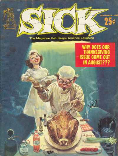 Sick #15 comic books - cover scans photos Sick #15 comic books - covers, picture gallery