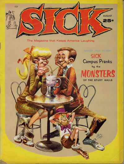 Sick #22 comic books - cover scans photos Sick #22 comic books - covers, picture gallery