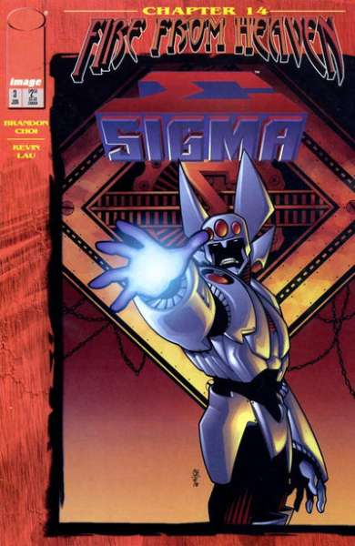Sigma #3 comic books for sale