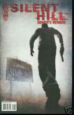 Silent Hill: Sinner's Reward comic books