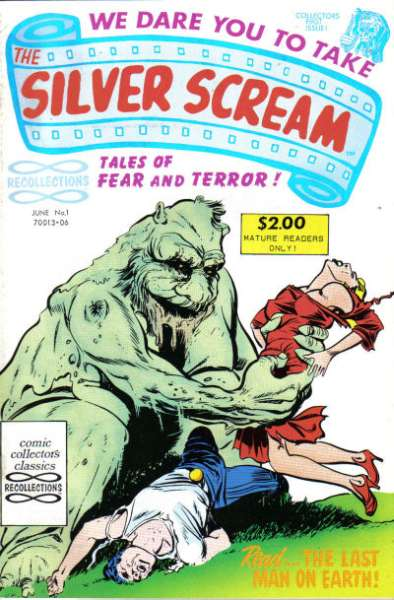 Silver Scream comic books