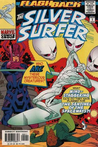 Silver Surfer #-1 comic books - cover scans photos Silver Surfer #-1 comic books - covers, picture gallery
