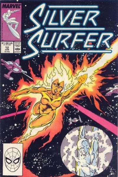 Silver Surfer #12 comic books for sale