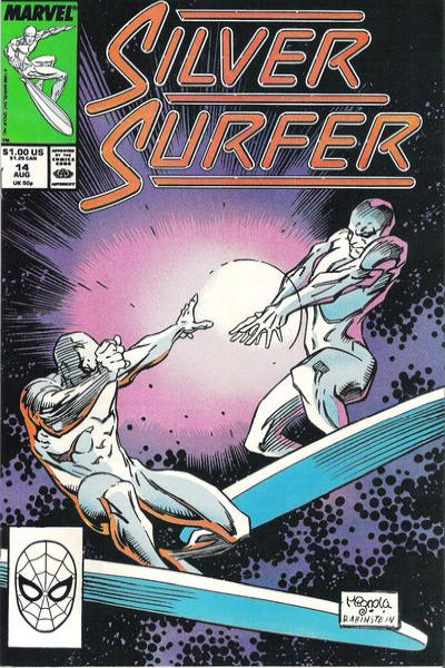 Silver Surfer #14 comic books - cover scans photos Silver Surfer #14 comic books - covers, picture gallery