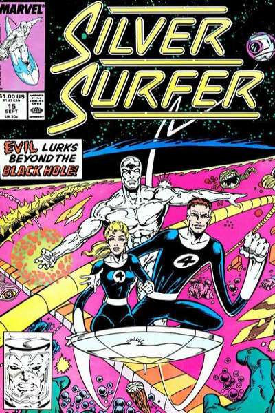 Silver Surfer #15 comic books - cover scans photos Silver Surfer #15 comic books - covers, picture gallery