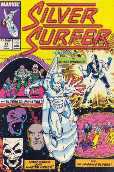 Silver Surfer #17 comic books for sale