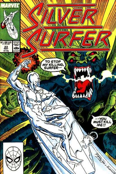 Silver Surfer #23 comic books for sale