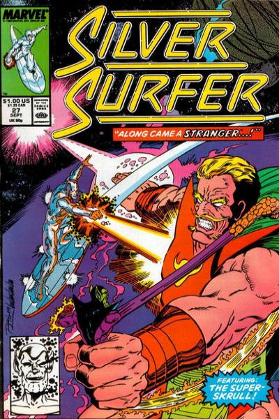 Silver Surfer #27 Comic Books - Covers, Scans, Photos  in Silver Surfer Comic Books - Covers, Scans, Gallery