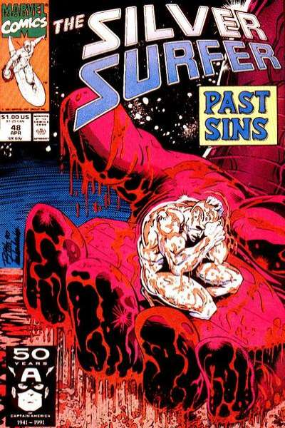 Silver Surfer #48 comic books for sale