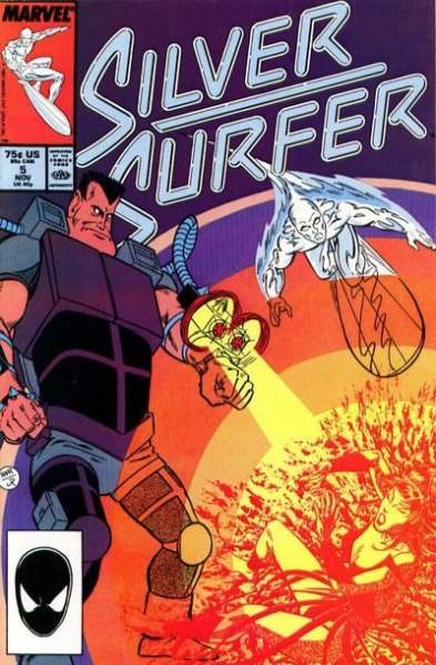 Silver Surfer #5 comic books - cover scans photos Silver Surfer #5 comic books - covers, picture gallery