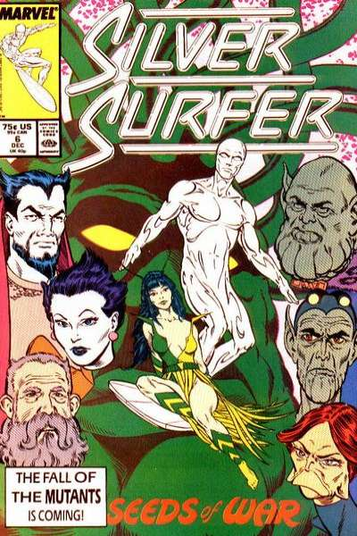 Silver Surfer #6 comic books - cover scans photos Silver Surfer #6 comic books - covers, picture gallery