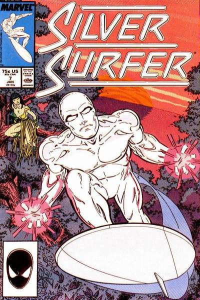Silver Surfer #7 Comic Books - Covers, Scans, Photos  in Silver Surfer Comic Books - Covers, Scans, Gallery