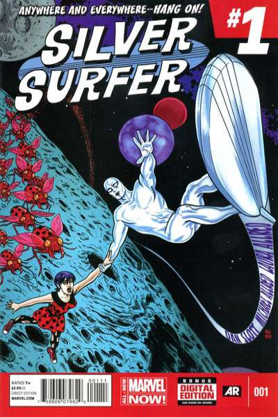 Silver Surfer #1 comic books - cover scans photos Silver Surfer #1 comic books - covers, picture gallery