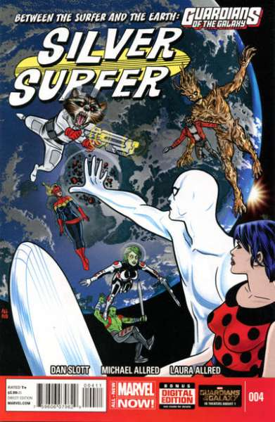Silver Surfer #4 Comic Books - Covers, Scans, Photos  in Silver Surfer Comic Books - Covers, Scans, Gallery