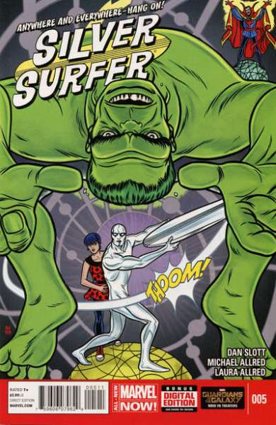 Silver Surfer #5 Comic Books - Covers, Scans, Photos  in Silver Surfer Comic Books - Covers, Scans, Gallery
