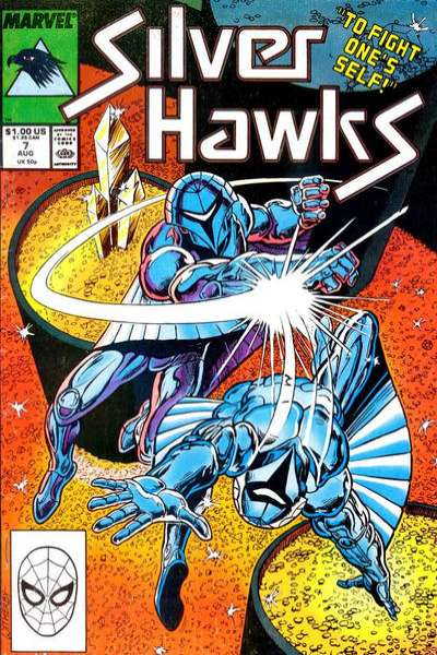 Silverhawks #7 comic books for sale