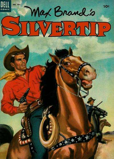 Silvertip comic books