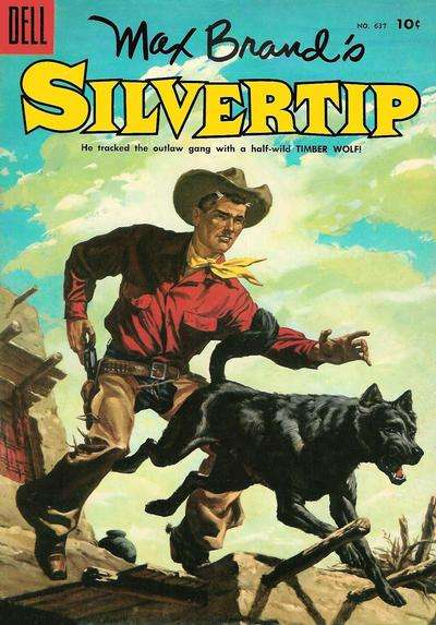 Silvertip #4 comic books - cover scans photos Silvertip #4 comic books - covers, picture gallery