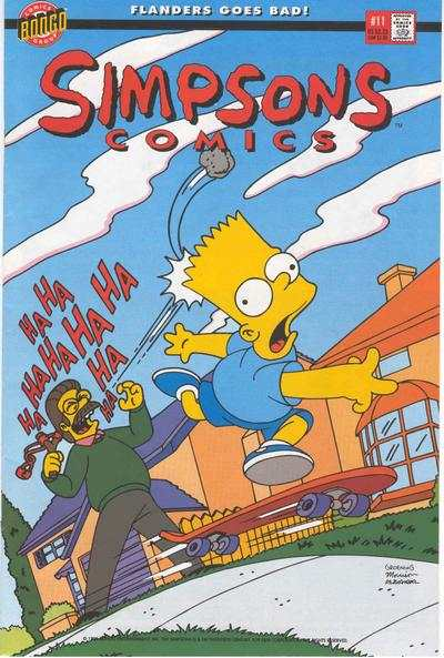 Simpsons Comics #11 Comic Books - Covers, Scans, Photos  in Simpsons Comics Comic Books - Covers, Scans, Gallery
