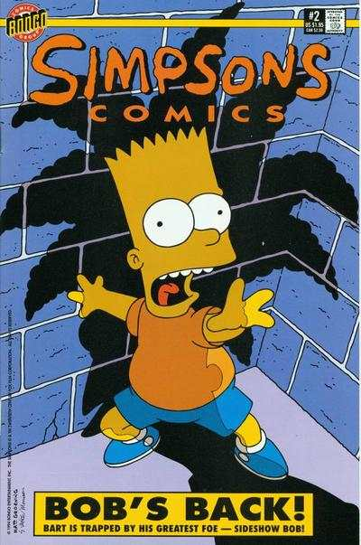Simpsons Comics #2 Comic Books - Covers, Scans, Photos  in Simpsons Comics Comic Books - Covers, Scans, Gallery