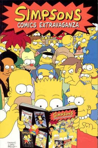 Simpsons Comics #1 comic books - cover scans photos Simpsons Comics #1 comic books - covers, picture gallery