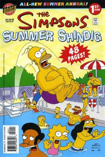 Simpsons Comics #1 comic books for sale
