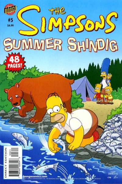 Simpsons Comics #5 comic books for sale