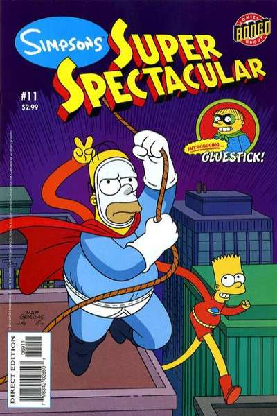 Simpsons Super Spectacular #11 Comic Books - Covers, Scans, Photos  in Simpsons Super Spectacular Comic Books - Covers, Scans, Gallery