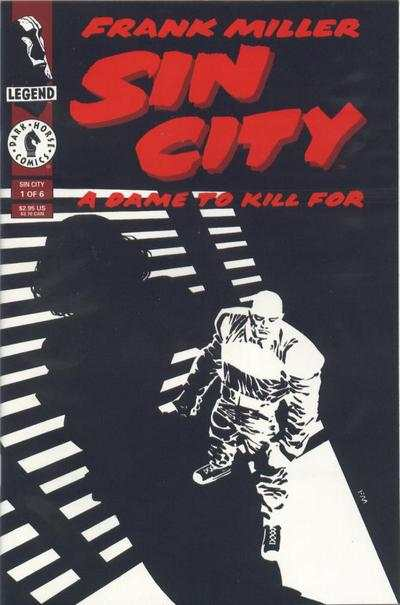 Sin City: A Dame to Kill For comic books