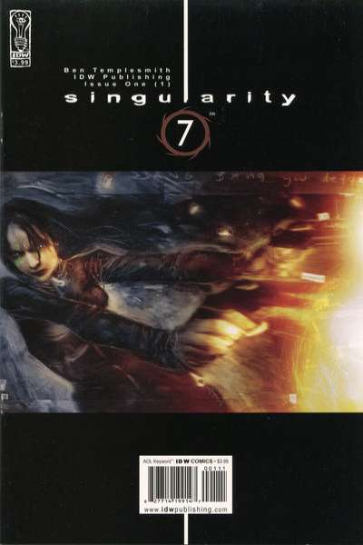 Singularity 7 #1 comic books - cover scans photos Singularity 7 #1 comic books - covers, picture gallery