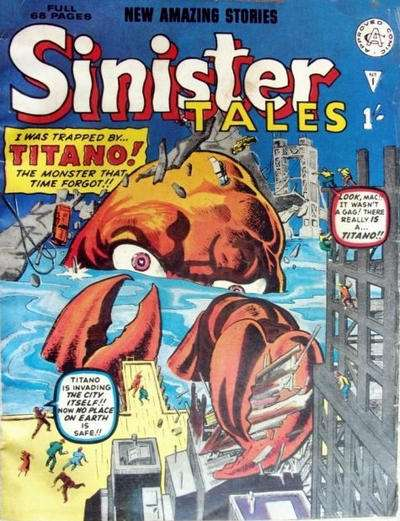 Sinister Tales comic books
