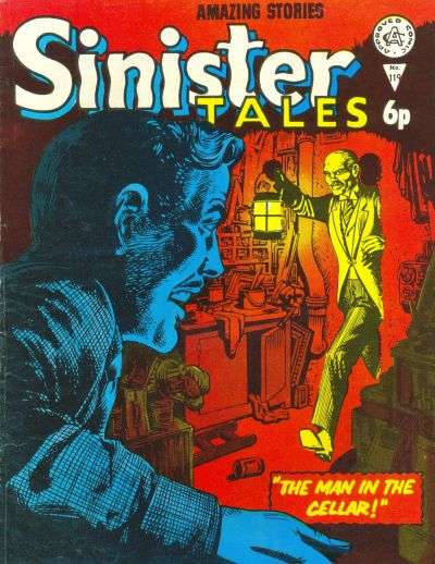 Sinister Tales #119 comic books for sale