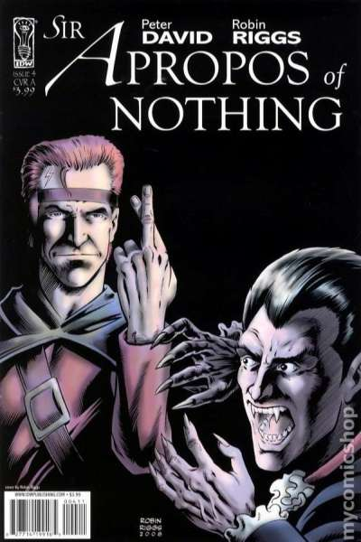 Sir Apropos of Nothing #4 comic books - cover scans photos Sir Apropos of Nothing #4 comic books - covers, picture gallery