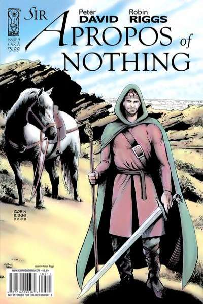 Sir Apropos of Nothing #5 comic books - cover scans photos Sir Apropos of Nothing #5 comic books - covers, picture gallery